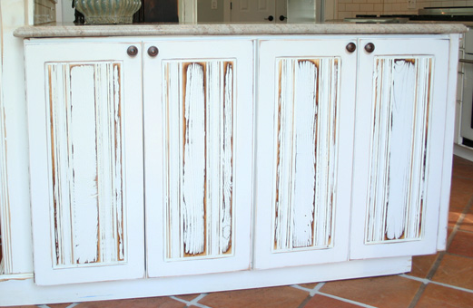 Beadboard Inlay Cabinet Doors ...